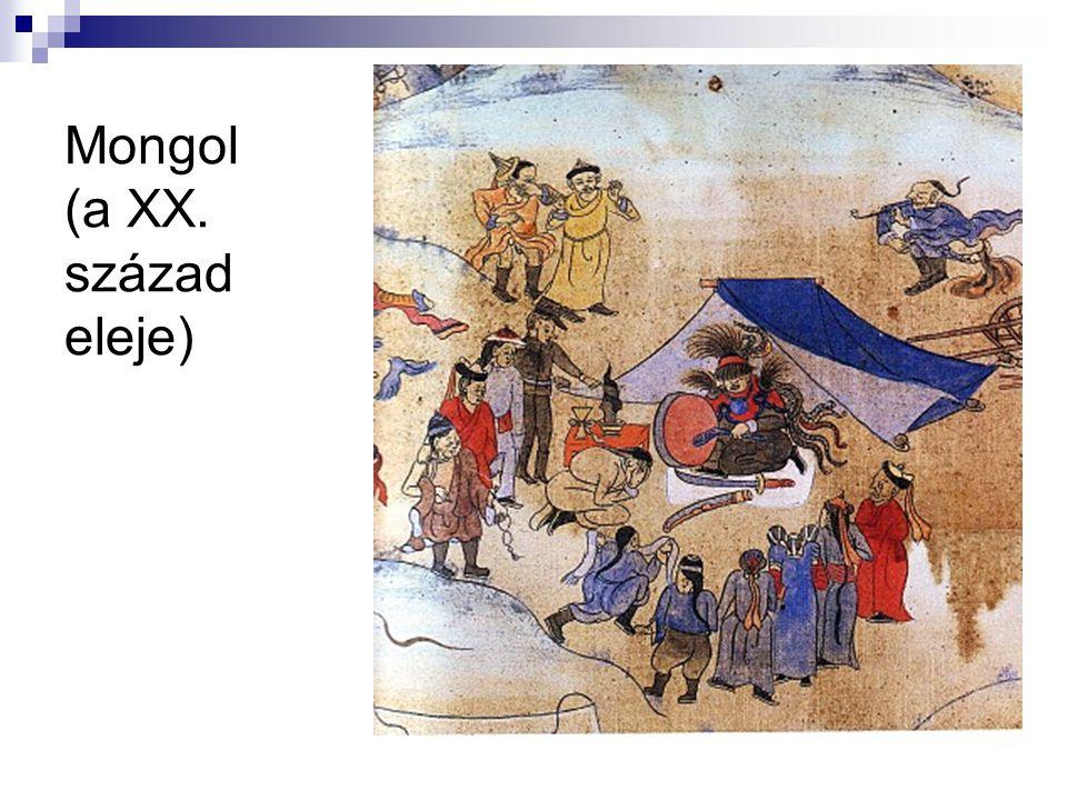 Mongol (a XX. század eleje)