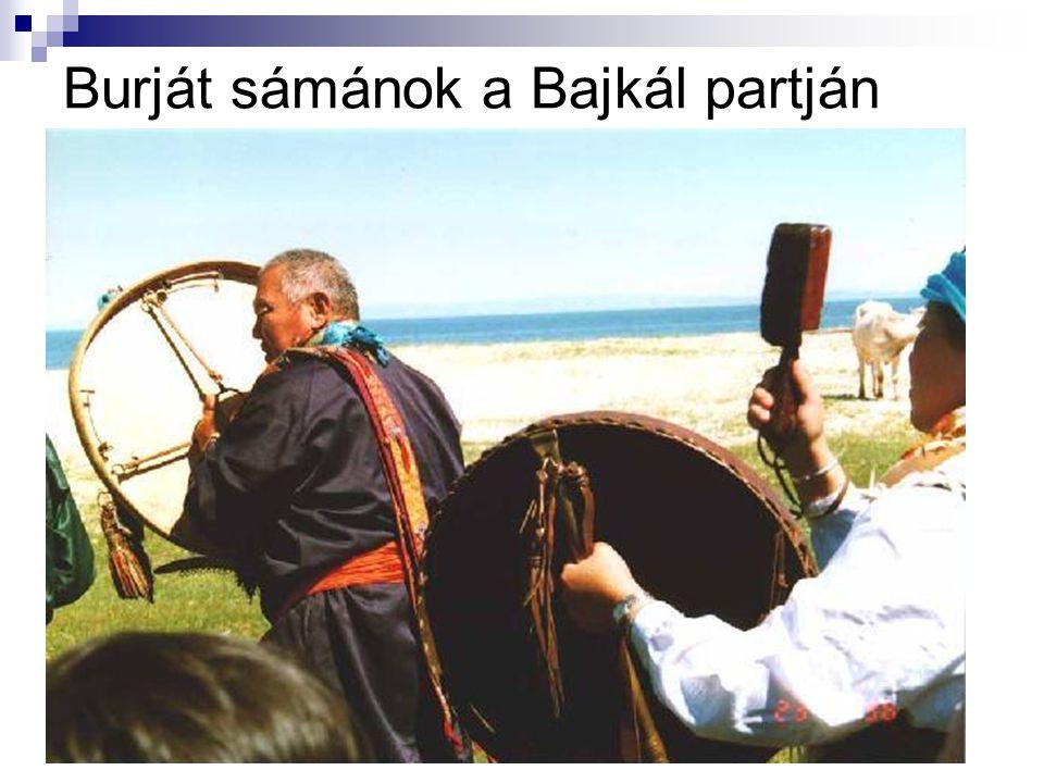 Burját sámánok a Bajkál partján