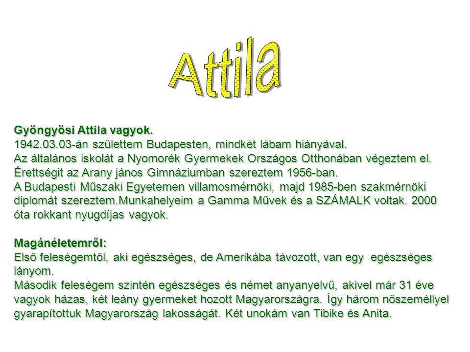 Attila Gyöngyösi Attila vagyok.