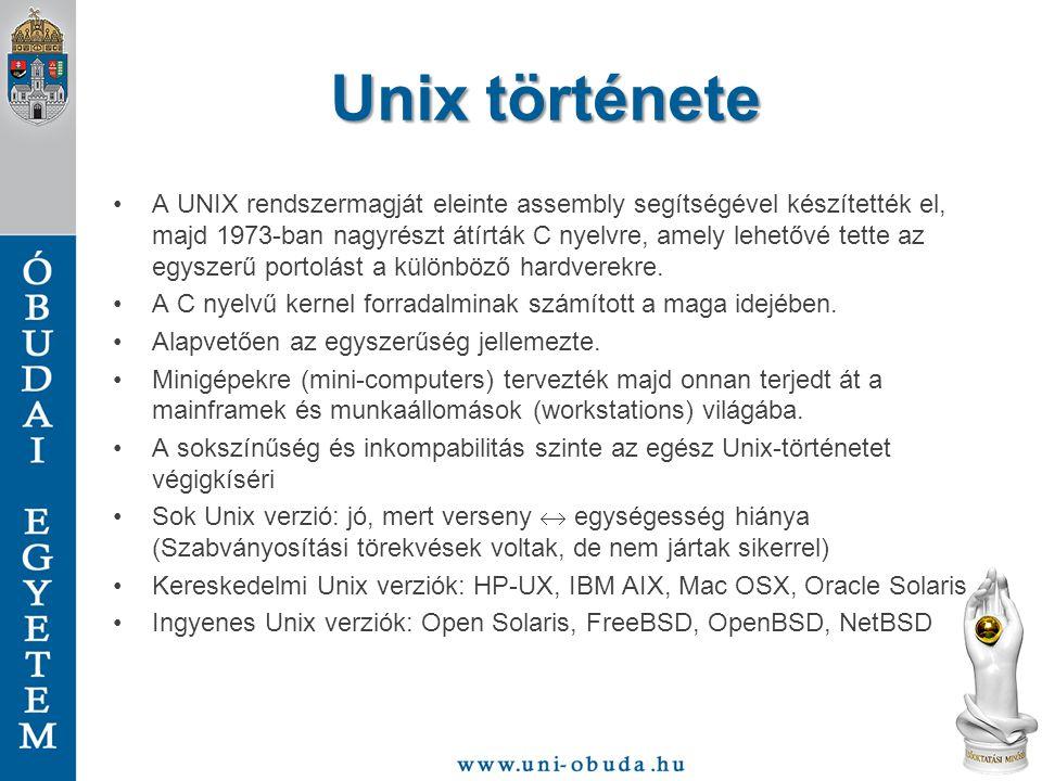 Unix története