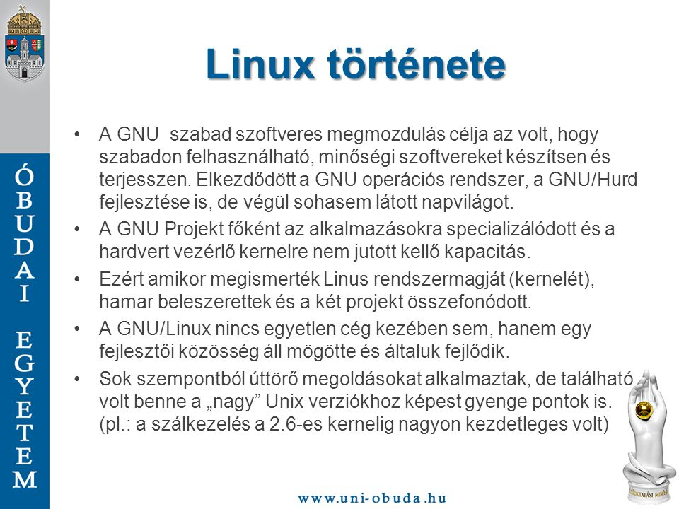 Linux története