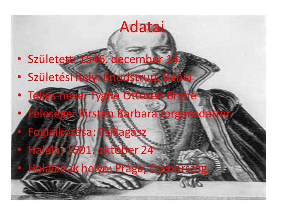 Adatai Született: 1546. december 14 Születési hely: Knudstrup, Dánia
