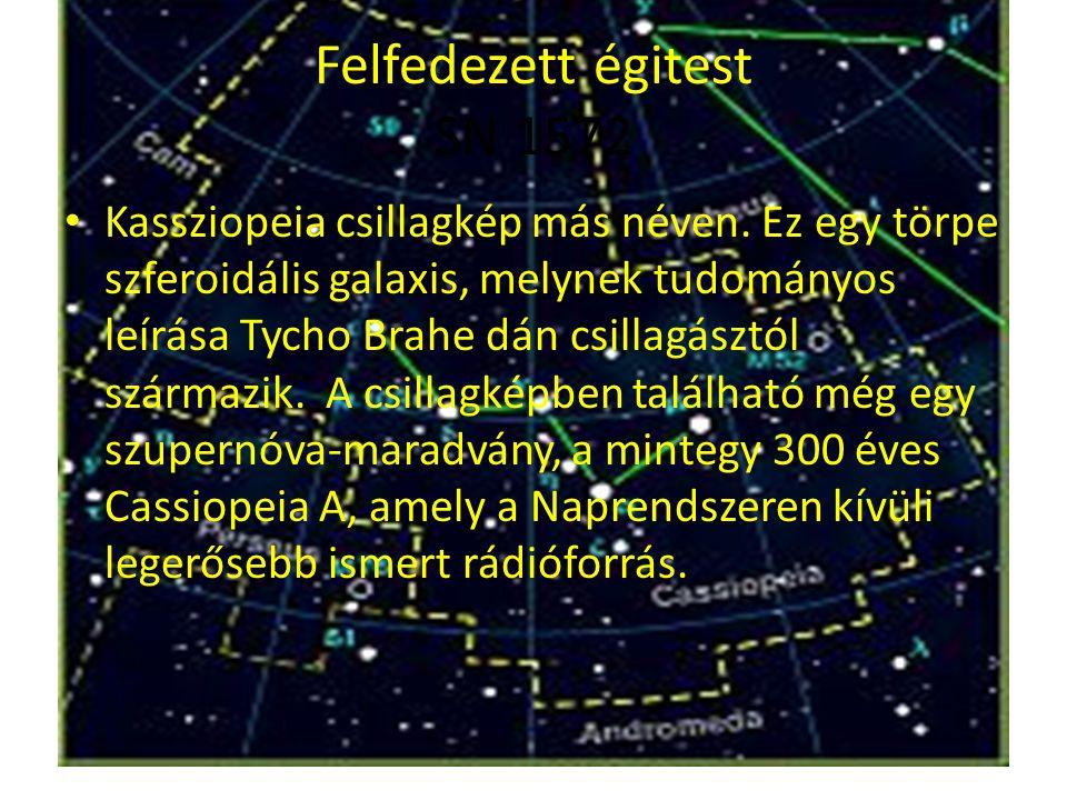 Felfedezett égitest SN 1572