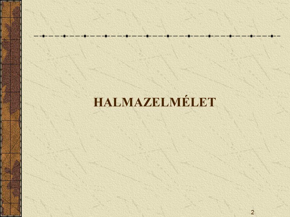 HALMAZELMÉLET