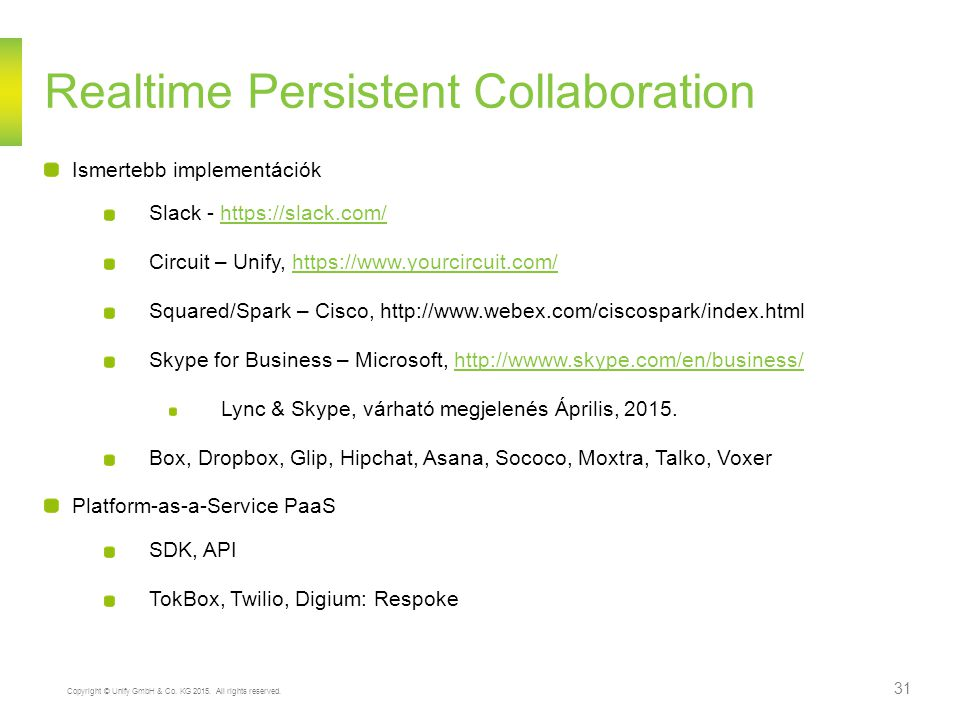 Realtime Persistent Collaboration