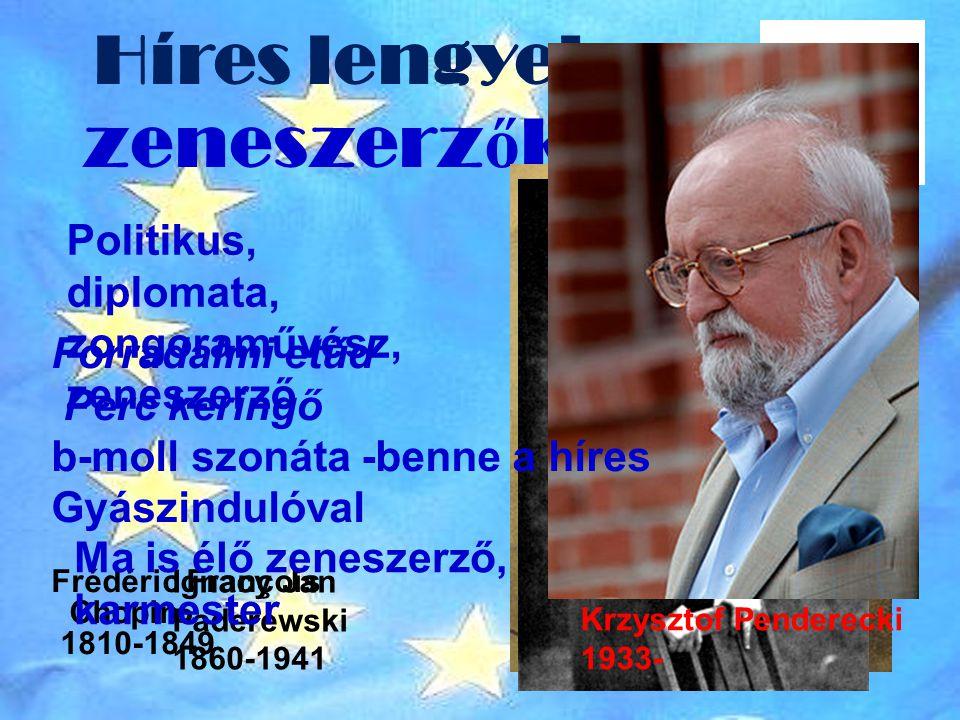 Híres lengyel zeneszerzők: