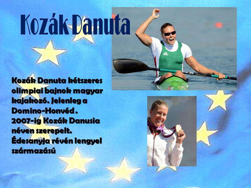Kozák Danuta Kozák Danuta kétszeres olimpiai bajnok magyar kajakozó. Jelenleg a Domino-Honvéd .