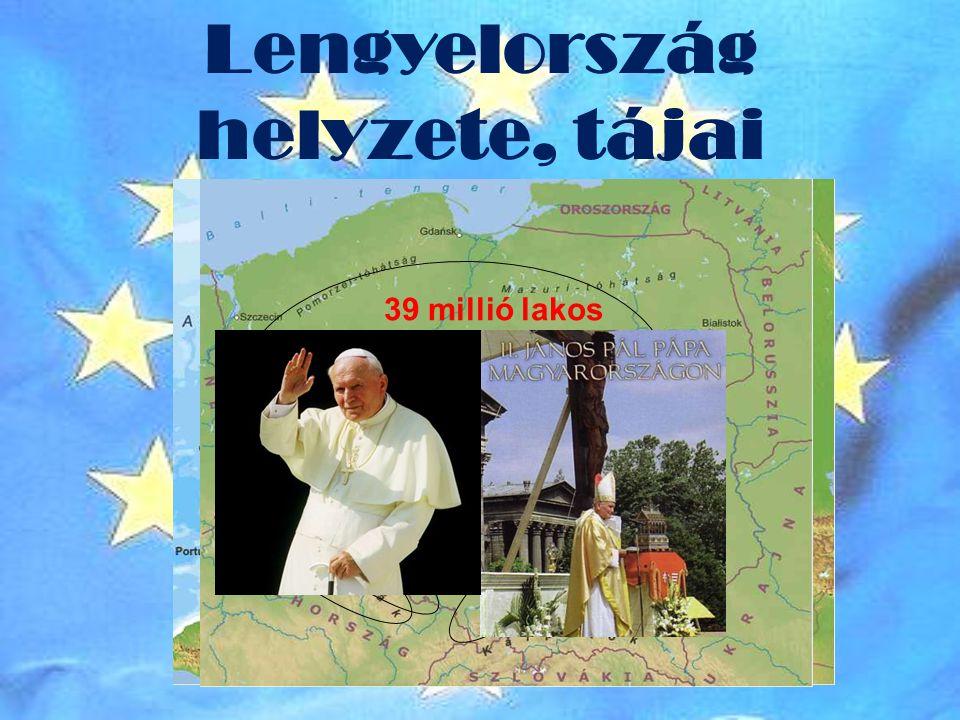 Lengyelország helyzete, tájai
