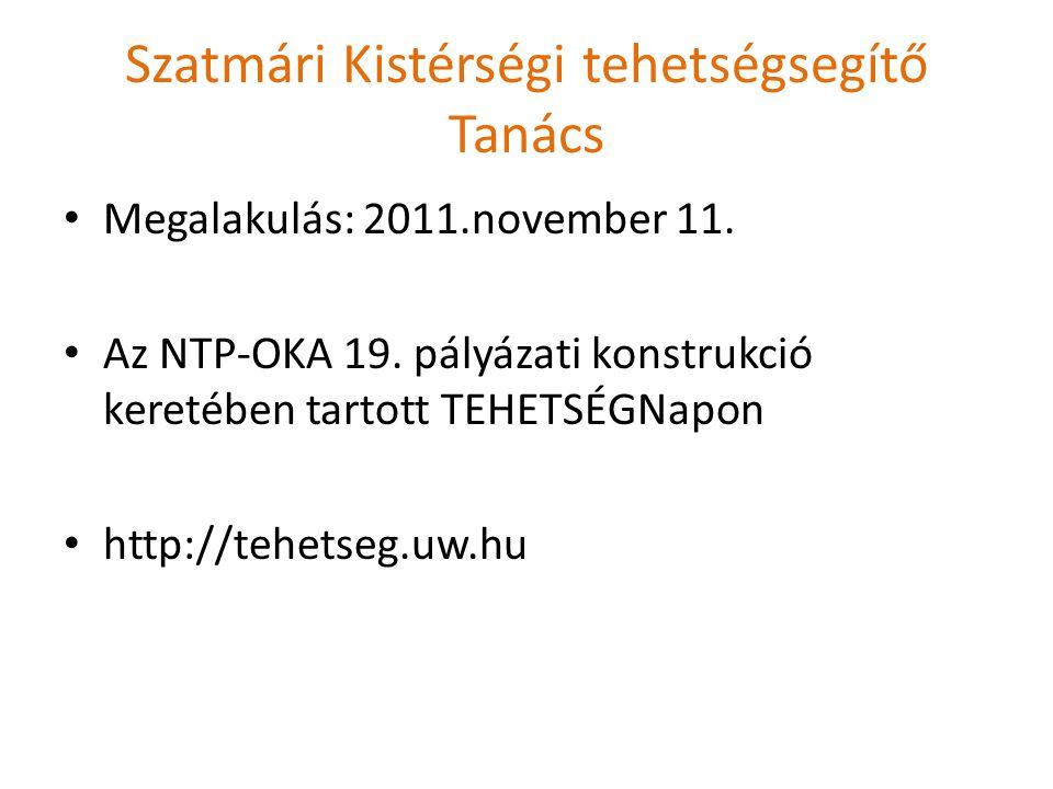 Szatmári Kistérségi tehetségsegítő Tanács