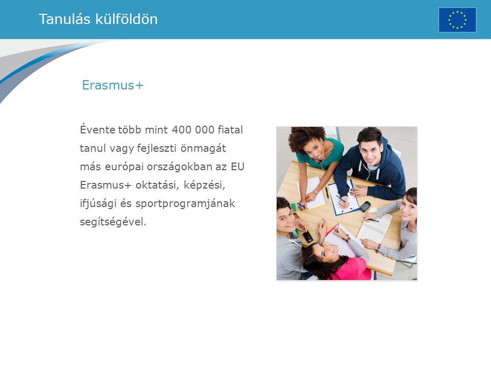 Tanulás külföldön Erasmus+