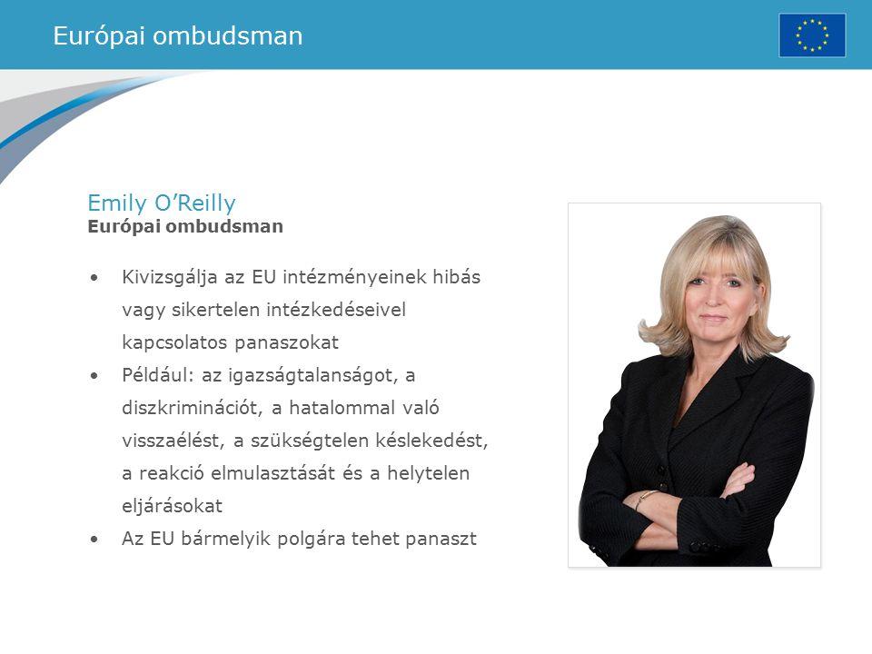 Európai ombudsman Emily O'Reilly