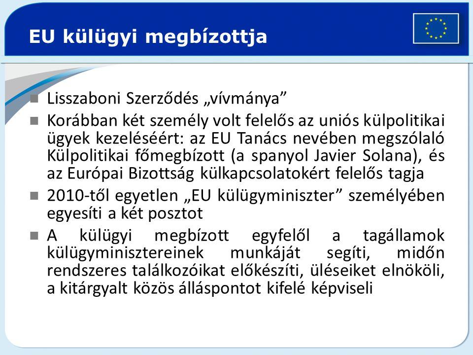 EU külügyi megbízottja