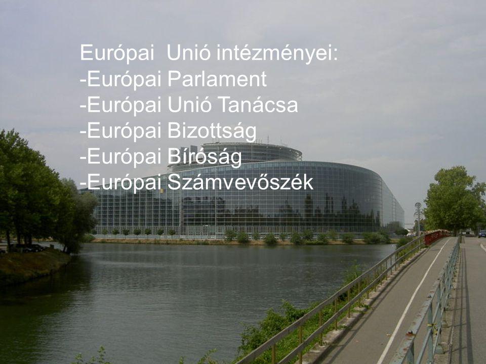 Európai Unió intézményei: