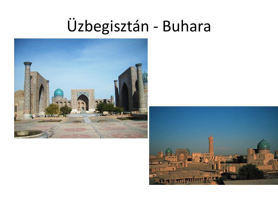 Üzbegisztán - Buhara