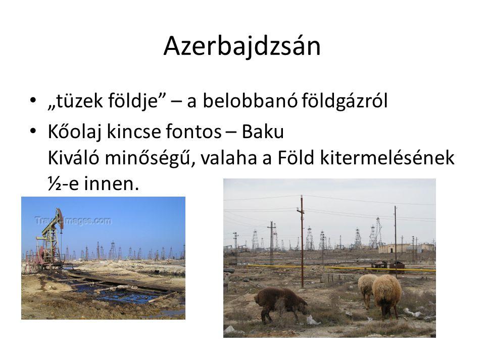 """Azerbajdzsán """"tüzek földje – a belobbanó földgázról"""