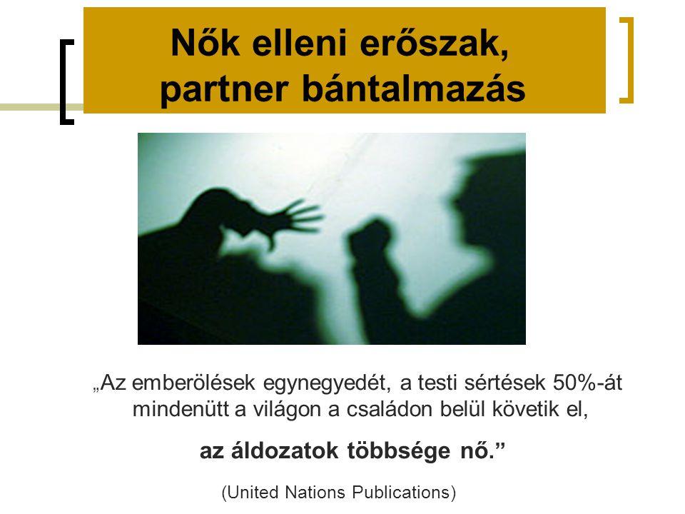 Nők elleni erőszak, partner bántalmazás