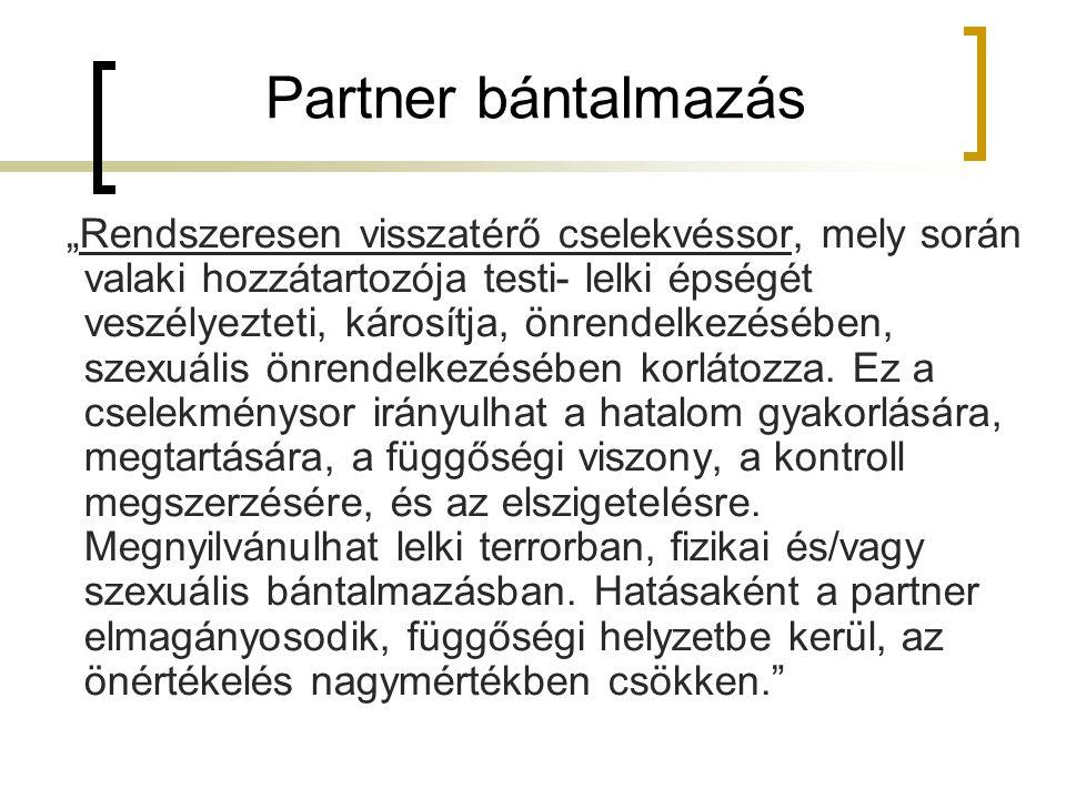 Partner bántalmazás