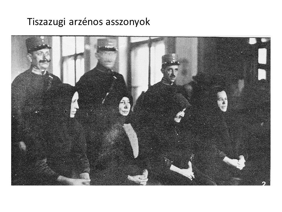 Tiszazugi arzénos asszonyok