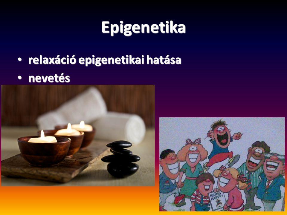 Epigenetika relaxáció epigenetikai hatása nevetés
