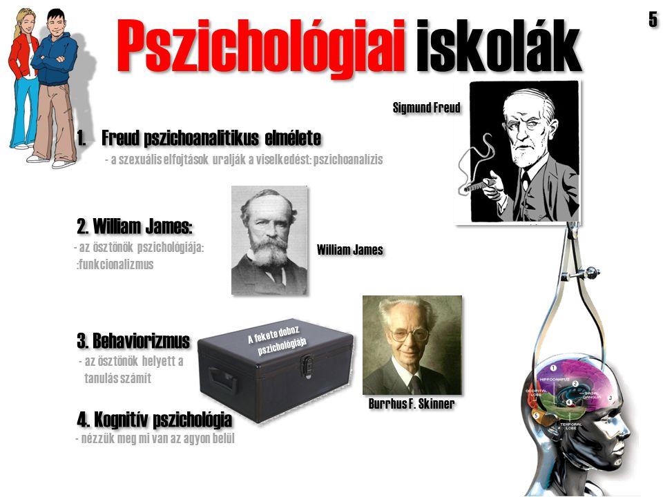 Pszichológiai iskolák