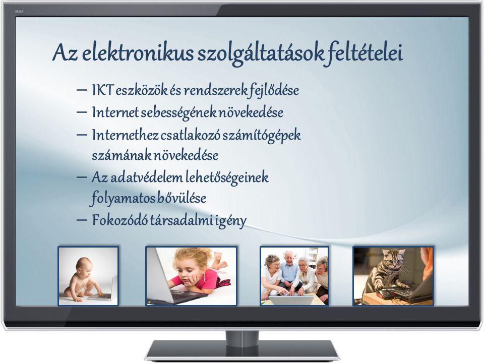 Az elektronikus szolgáltatások feltételei