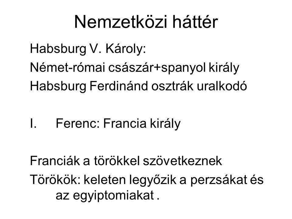Nemzetközi háttér Habsburg V. Károly: