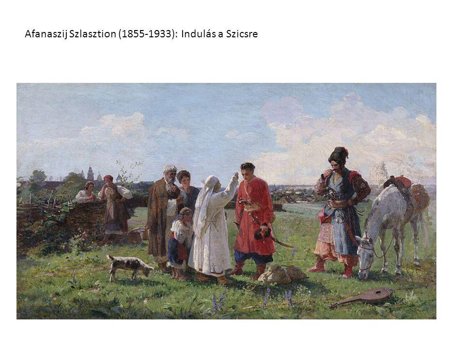 Afanaszij Szlasztion (1855-1933): Indulás a Szicsre