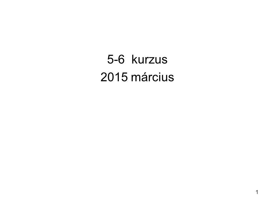 5-6 kurzus 2015 március