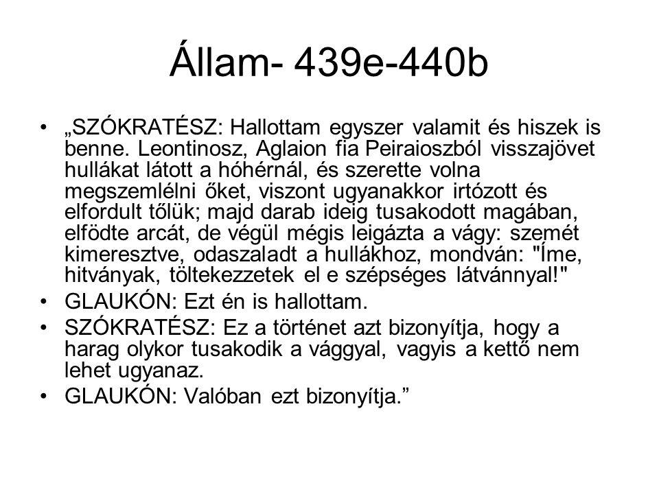 Állam- 439e-440b