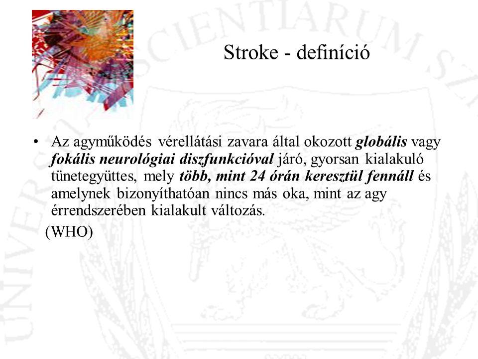 Stroke - definíció