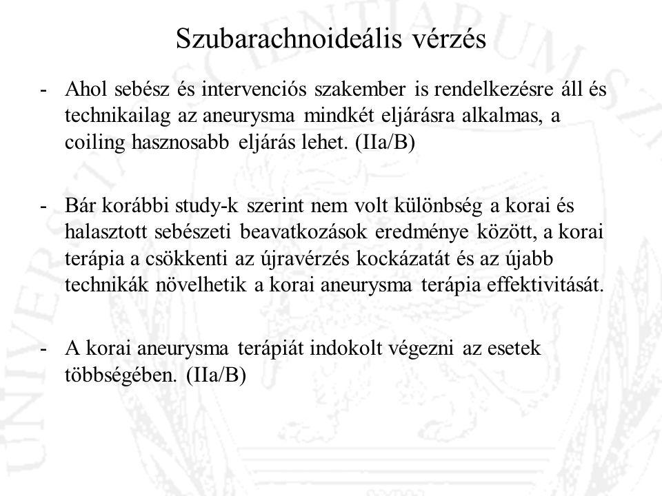 Szubarachnoideális vérzés