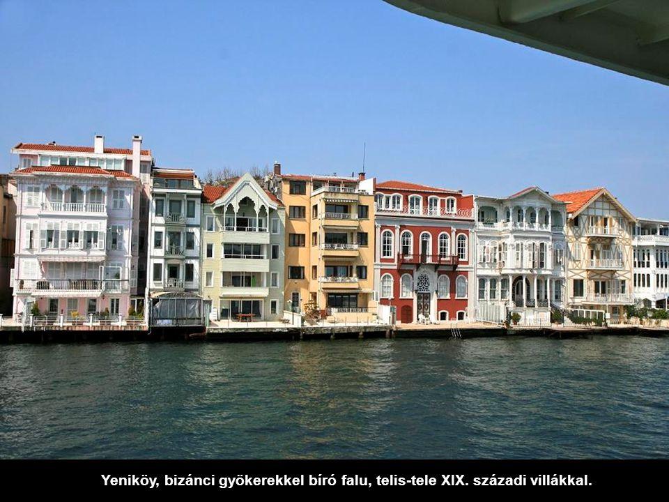 Yeniköy, bizánci gyökerekkel bíró falu, telis-tele XIX
