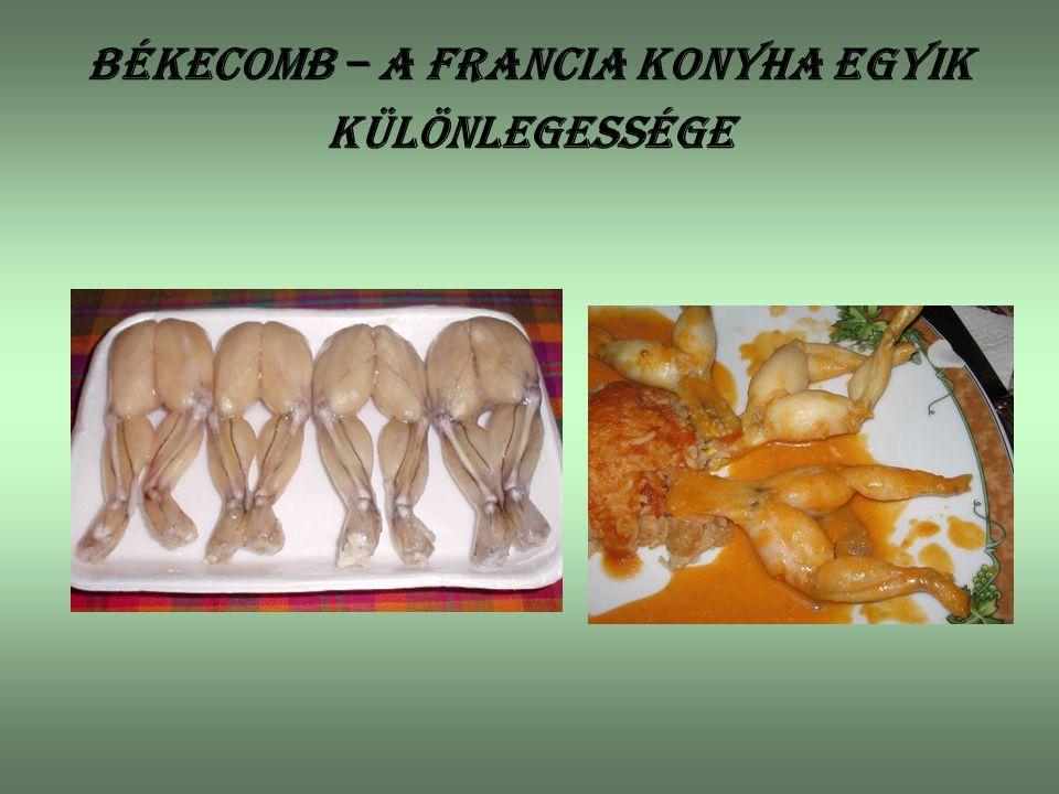 Békecomb – a francia konyha egyik különlegessége