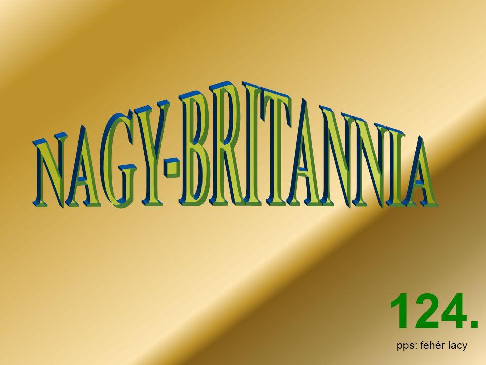 NAGY-BRITANNIA 124. pps: fehér lacy