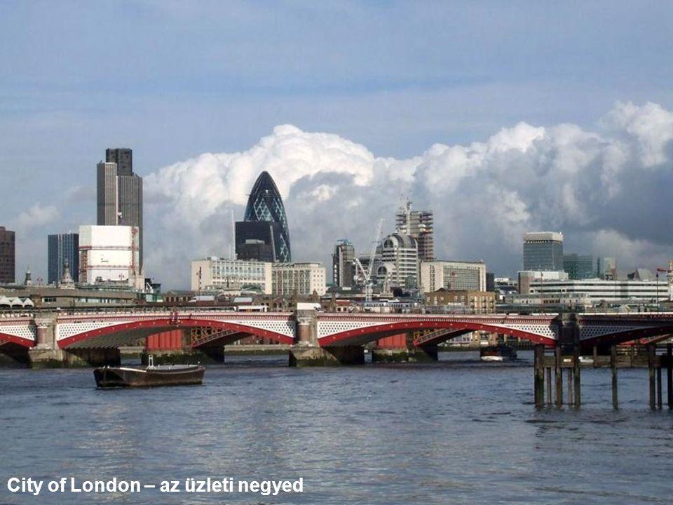 City of London – az üzleti negyed
