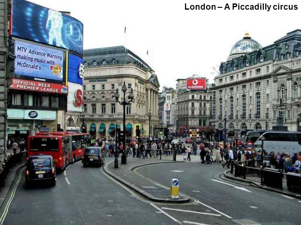 London – A Piccadilly circus
