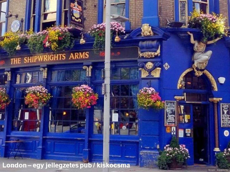 London – egy jellegzetes pub / kiskocsma