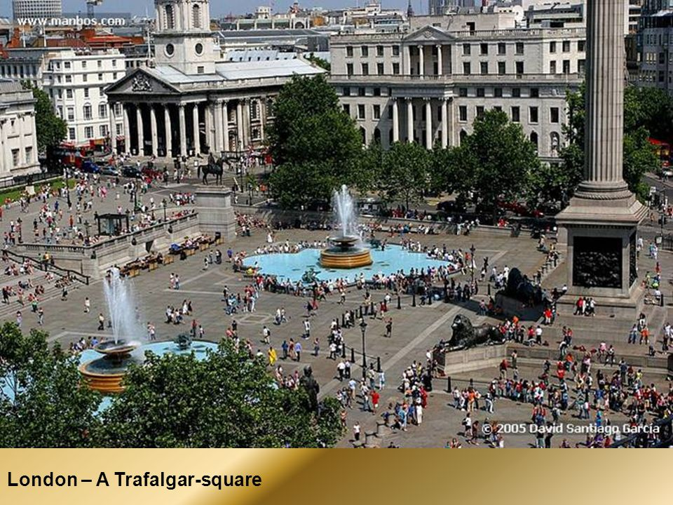 London – A Trafalgar-square
