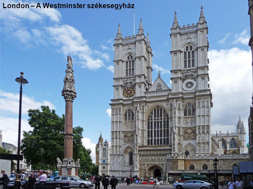 London – A Westminster székesegyház