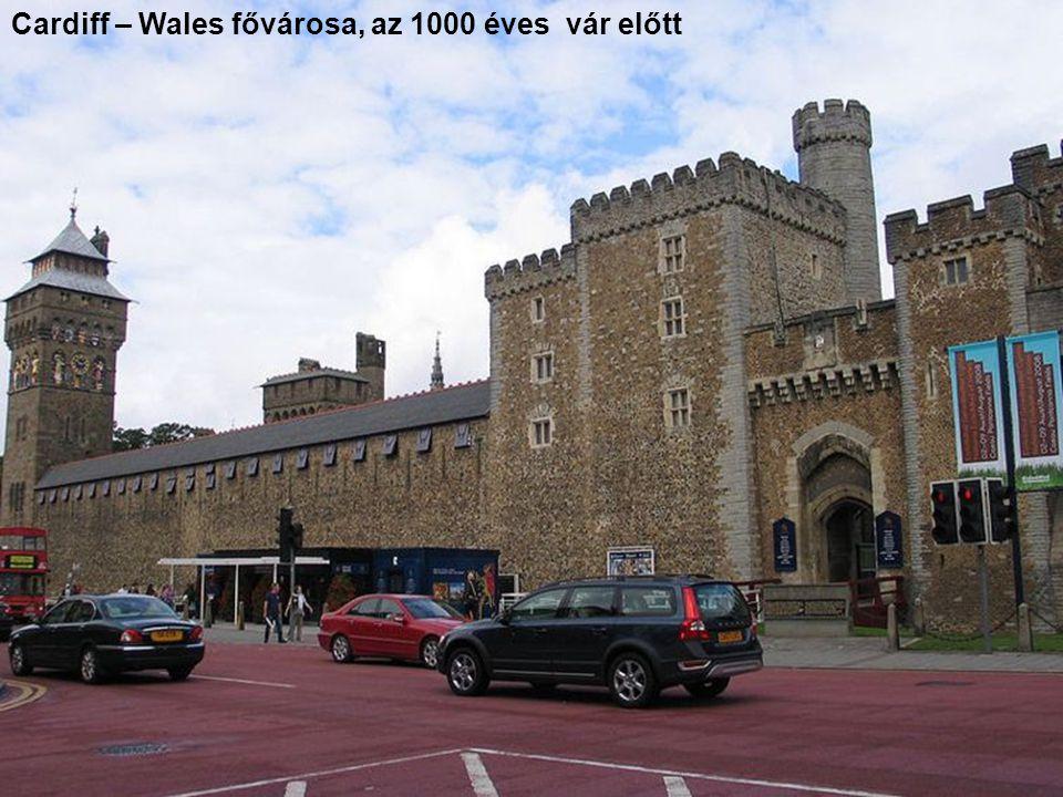 Cardiff – Wales fővárosa, az 1000 éves vár előtt