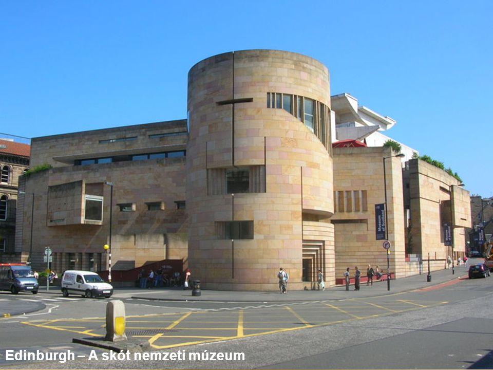 Edinburgh – A skót nemzeti múzeum