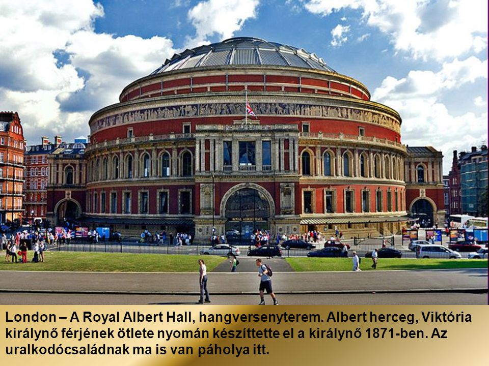 London – A Royal Albert Hall, hangversenyterem