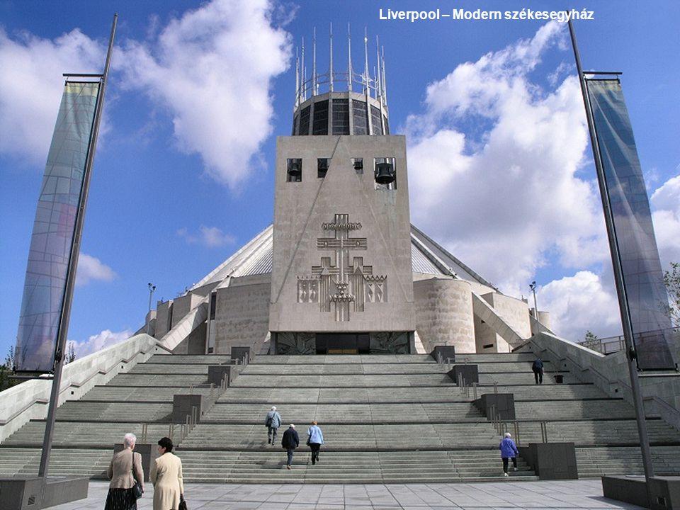 Liverpool – Modern székesegyház