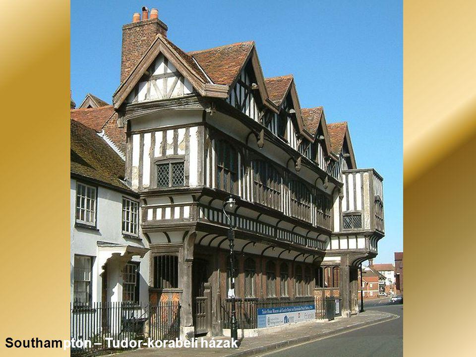 Southampton – Tudor-korabeli házak