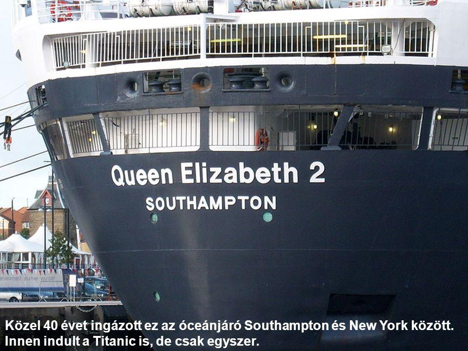 Közel 40 évet ingázott ez az óceánjáró Southampton és New York között