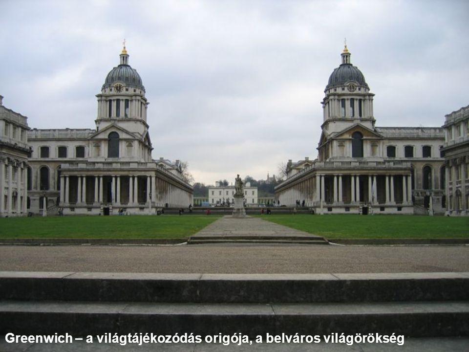 Greenwich – a világtájékozódás origója, a belváros világörökség