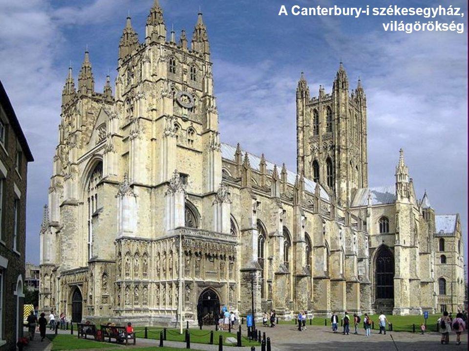 A Canterbury-i székesegyház, világörökség