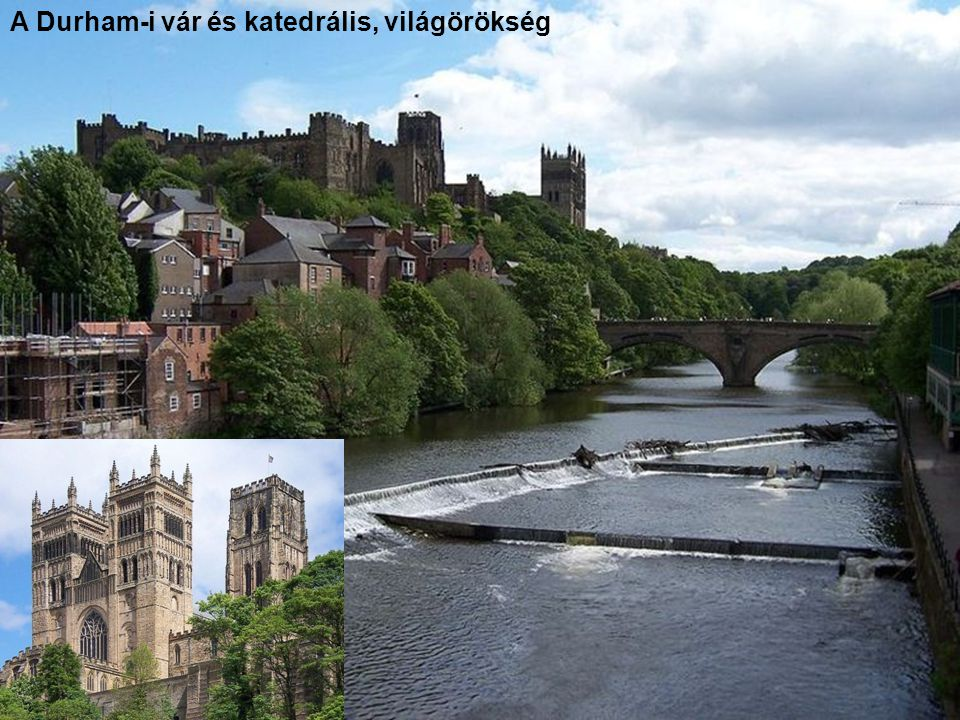 A Durham-i vár és katedrális, világörökség