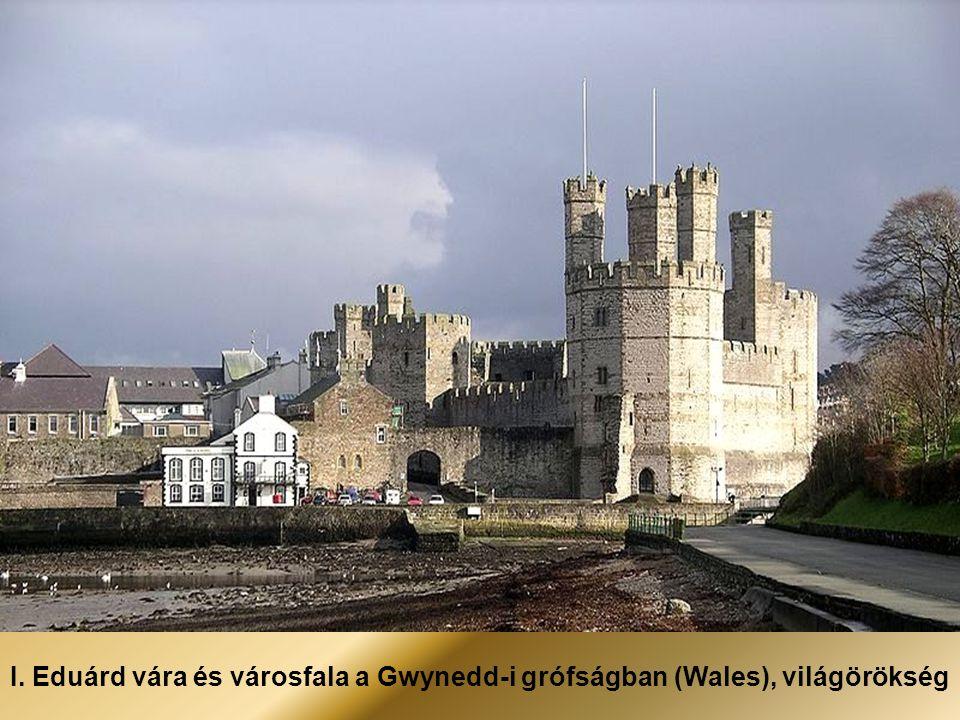 I. Eduárd vára és városfala a Gwynedd-i grófságban (Wales), világörökség