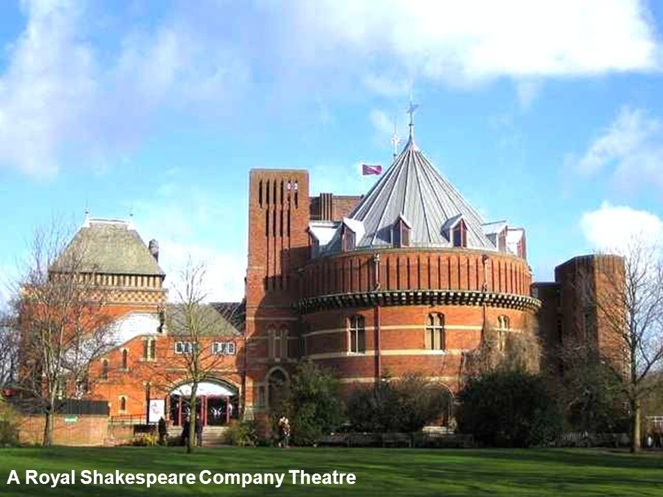 A Royal Shakespeare Company Theatre